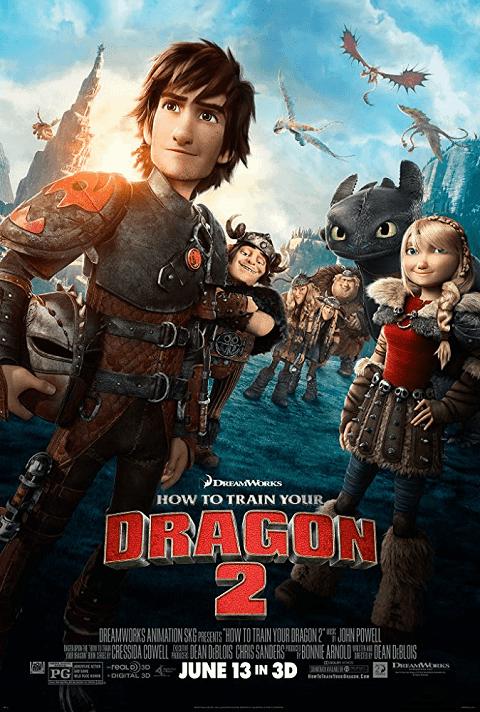 How to Train Your Dragon 2 (2014) อภินิหารไวกิ้งพิชิตมังกร