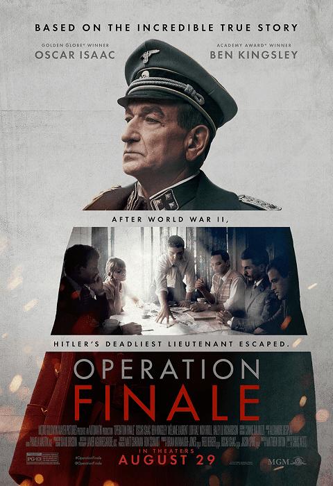 Operation Finale (2018) ปฏิบัติการปิดฉากปีศาจนาซี [ซับไทย]