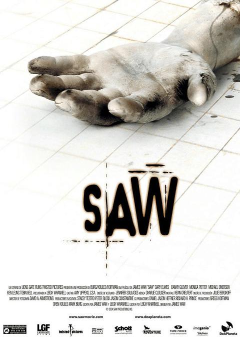 ดูหนัง Saw 1 (2004) ซอว์ ภาค 1 เกมตัดต่อตาย ตัดเป็น iMovie-HD