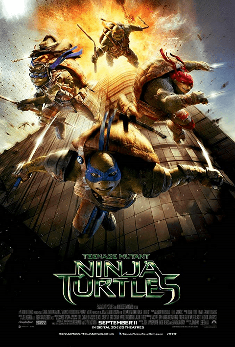 Teenage Mutant Ninja Turtles 1 เต่านินจา 1