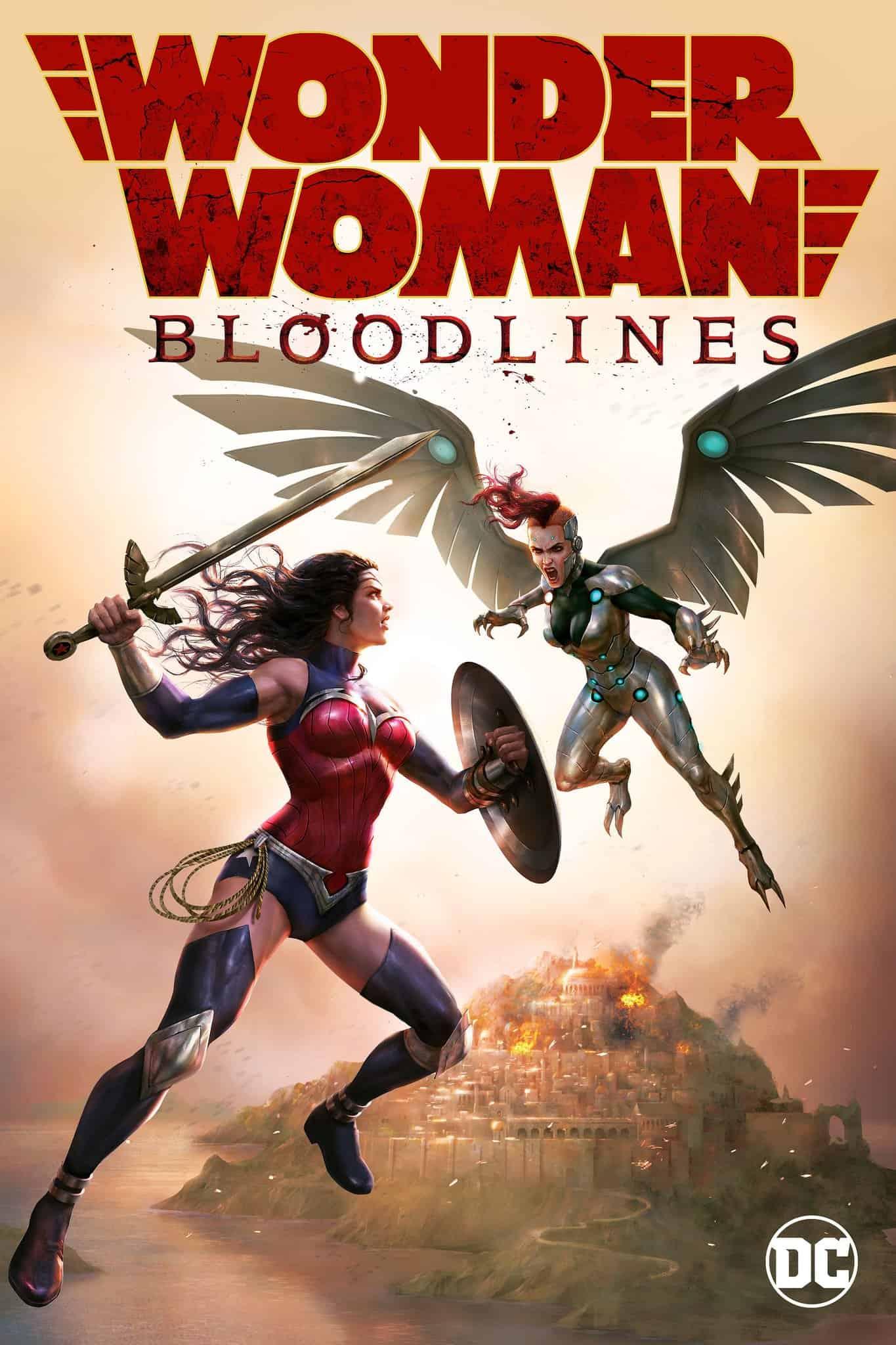 Wonder Woman Bloodlines (2019)
