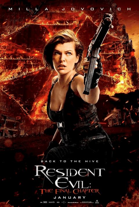 Resident Evil 6 The Final Chapter (2016) ผีชีวะ ภาค 6 อวสานผีชีวะ
