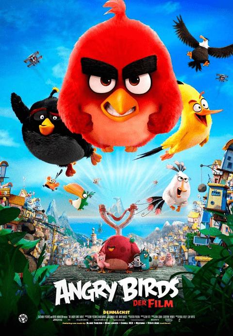 The Angry Birds Movie 1 (2016) แองกรีเบิร์ดส เดอะ มูฟวี่ 1