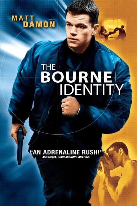 The Bourne 1 Identity (2002) ล่าจารชน ยอดคนอันตราย