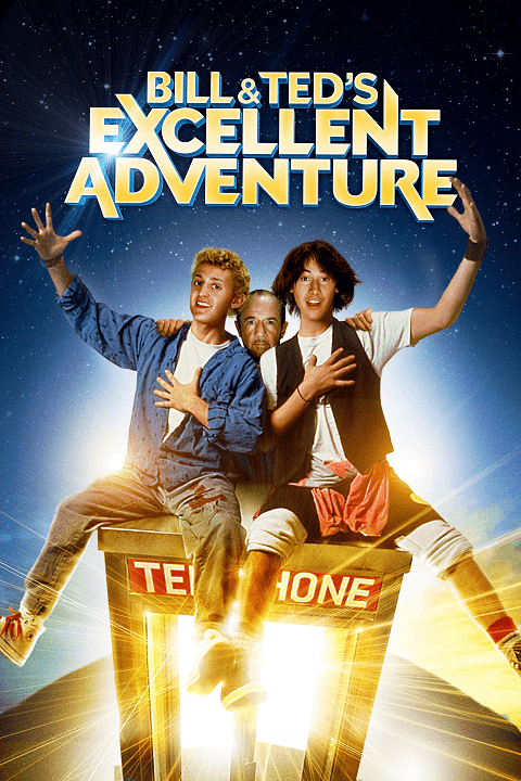 Bill & Ted's Excellent Adventure (1989) คู่ซี้คู่เพี้ยน