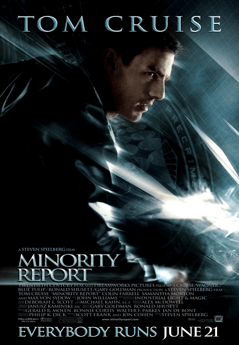 Minority Report (2002) ไมนอริตี้ รีพอร์ต หน่วยสกัดอาชญากรรม ล่าอนาคต