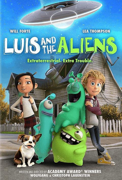 Luis and The Aliens (2018) หลุยส์ตัวแสบ กับแก๊งเอเลี่ยนตัวป่วน