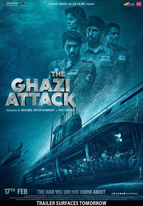 The Ghazi Attack (2017) ซับไทย